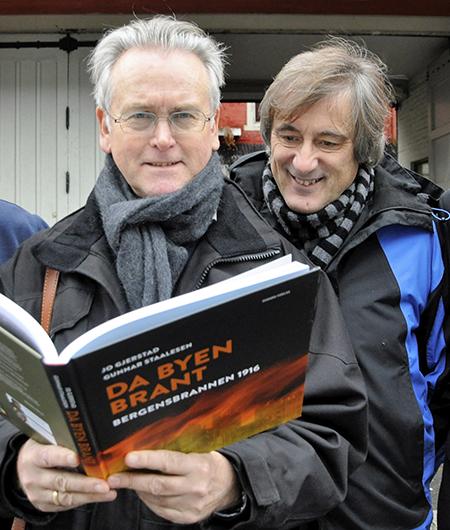 Gunnar Staalesen og Jo Gjerstad