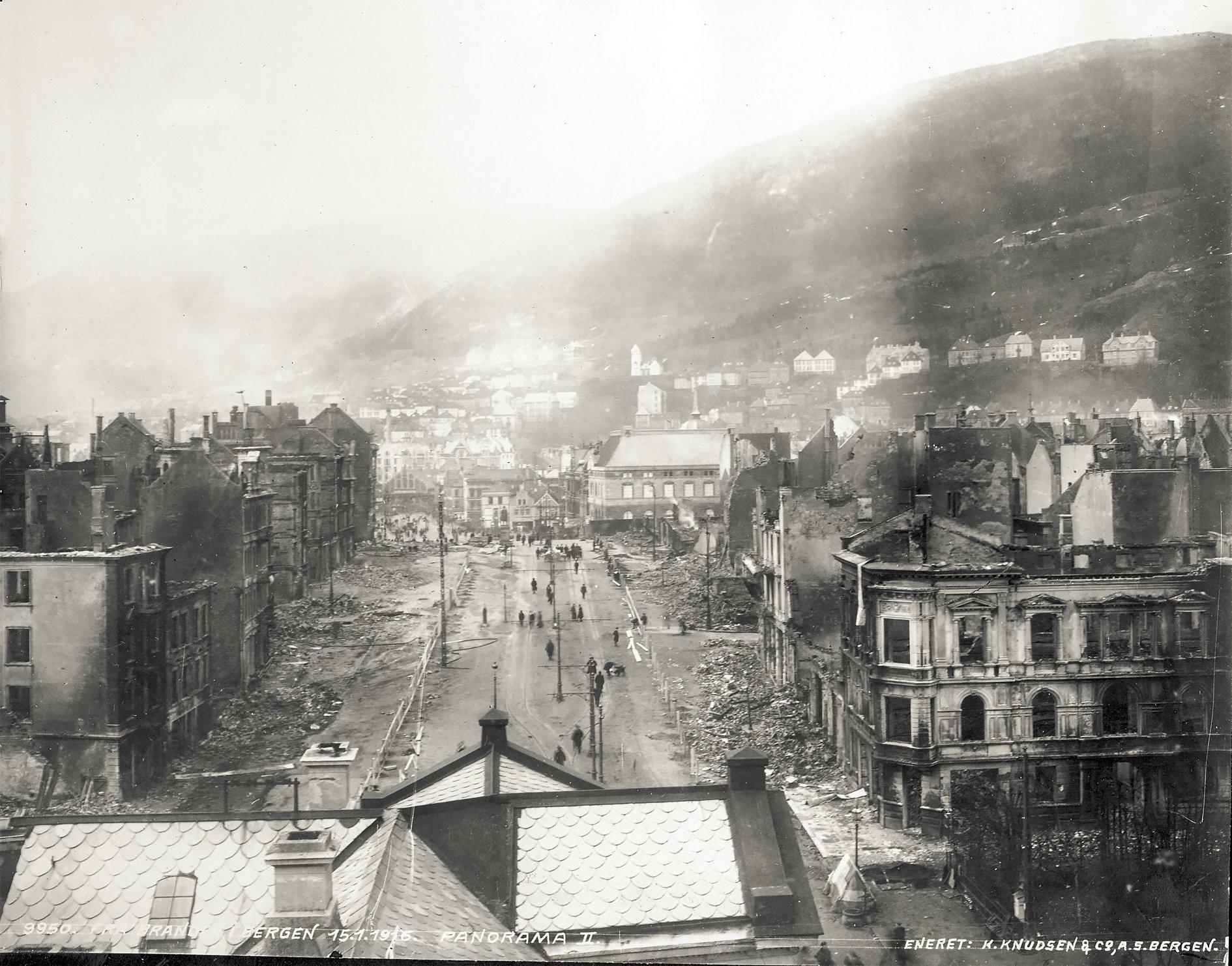 Torgallmenningen Januar 1916