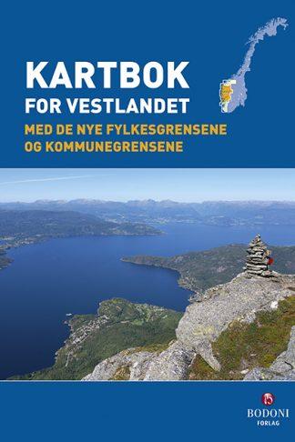 Kartbok for Vestlandet forside