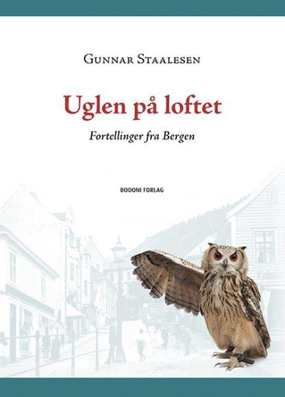 """Forside til boken """"Uglen på loftet"""""""