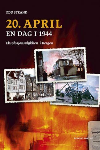 """Forside av boken """"20. april"""""""