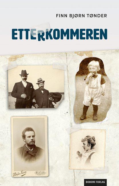 """Forsiden til boken """"Etterkommeren"""""""